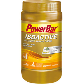 PowerBar Isoactive Alimentazione sportiva Orange 600g giallo/oro